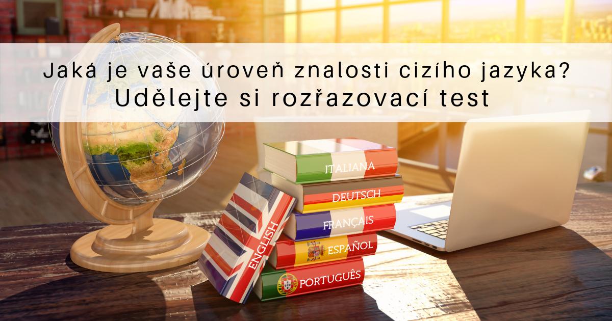 Rozřazovací test cizích jazyků